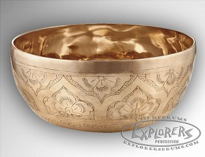 Meinl Special Engraved Series Singing Bowls