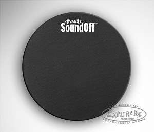 "SoundOff 15"" Drum Mute for Quiet Practice"