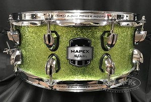 Mapex Snare Drum MyDentity Series 5.5x14 7 Ply Maple Shell in Sage Sparkle