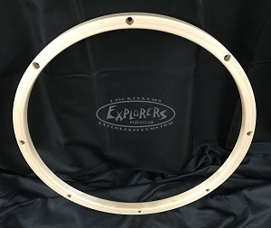 "16"" 8 Hole Maple Hoop"