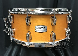 Yamaha Snare Drum Tour Custom 6.5x14 Maple 6 Ply Shell in Caramel Satin