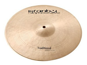 "Istanbul Agop 16"" Traditional Series Light Hi Hat Cymbal Pair"