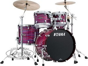 Tama Drum Set Starclassic 4 Piece Walnut/Birch Shell Pack in Lacquer Phantasm Oyster