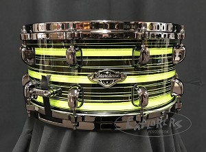 Tama Snare Drum Starclassic Limited Edition 6.5x14 Walnut/Birch Shell in Neon Yellow Oyster