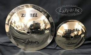 "Pasic Cymbal New Other - Zildjian FX 6"" & 9.5"" Zil-Bel Effects Cymbal Pack"