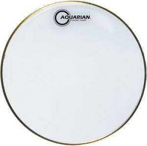 Aquarian Classic Clear 3 Mil Reso Snare Side Drum Head