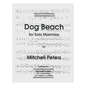 Dog Beach for Solo Marimba - Mitchell Peters