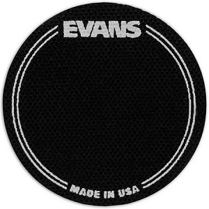 Evans Black Bass Drum Patch 2 Pack