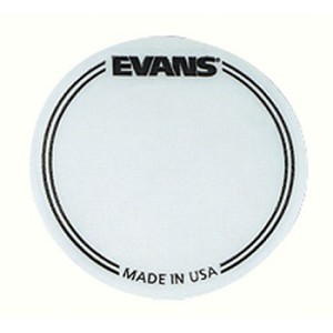 Evans Clear Bass Drum Patch 2 Pack