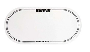 Evans Clear Double Beater Bass Drum Patch 2 Pack