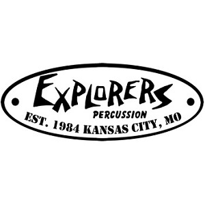 Explorers Percussion Decal Sticker