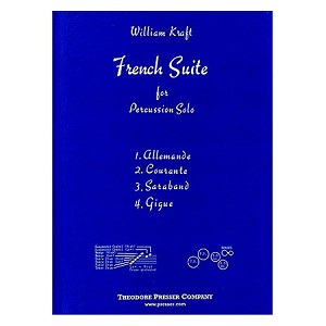 French Suite for Percussion Solo - William Kraft