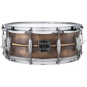 Gretsch Snare Drum 5.5x14 Brushed Brass Shell