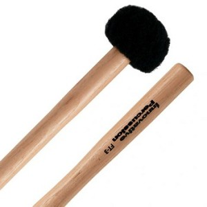 Innovative Percussion FT3 Soft Felt Head Wood Hickory Tenor Mallets