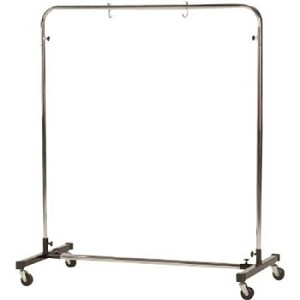"Large Stand for Gongs up to 40"" on Wheels"