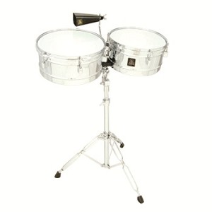 "LP Aspire 13""/14"" Chrome Timbales"