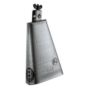 "Meinl Big Mouth Hammered Steel  8"" Cowbell"