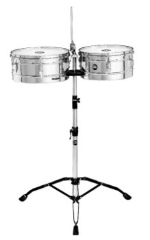 "Meinl 13"" & 14"" Chrome Headliner Timbales"