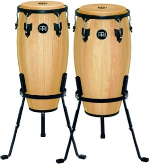 "Meinl Headliner 10"" & 11"" Congas with Basket Stands"