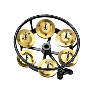 Meinl Professional Hi Hat Tamborine with Brass Jingles