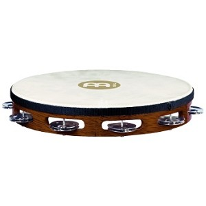 Meinl Single Row Headed Tambourine Aluminum Jungles