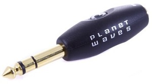 "Planet Waves 1/8"" Female to 1/4"" Male Stereo Adapter"
