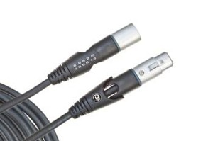 Planet Waves Custom Series Swivel XLR Microphone Cable, 10 feet
