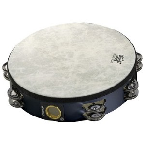 "Remo 10"" Pretuned Double Row Tambourine"