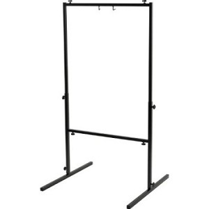 "Square gong stand for gongs up to 26"" in diameter."
