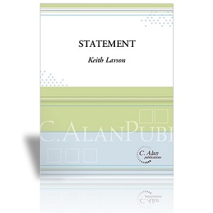 Statement for 5 Timpani & Piano - Keith Larson