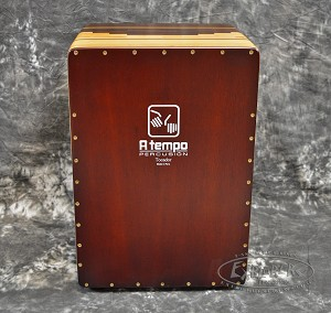 A Tempo Tocador Guitar String Snare Cajon with Case