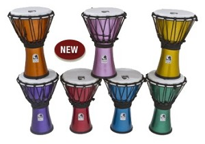 "Toca Freestyle Colorsound 7"" Djembe Pack"